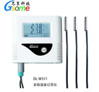 冷链温度记录仪Gsome尽享科技DL-W311多路温度记录仪冷链运输恒温箱