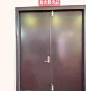 厂家直供工程仓库甲级超大钢质防火门隔热阻燃定制乙级钢制消防门