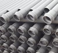 大量供应pvc排水管 河北pvc给水管厂家自制销售