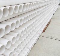 农村改水PVC管材报价 质量好价格低农田灌溉PVC管材