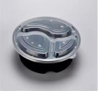 打包盒 塑料餐盒 一次性塑料餐盒 一次性塑料饭盒 米饭盒 商务套餐盒 瑞强众联 优质 透明塑料 供应 天水