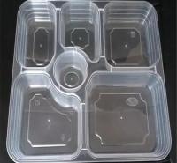 打包盒 塑料餐盒 一次性塑料餐盒 一次性塑料饭盒 米饭盒 商务套餐盒 瑞强众联 质量好 西安 定制 合作
