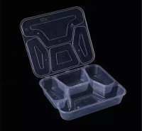 打包盒 塑料餐盒 一次性塑料餐盒 一次性塑料饭盒 米饭盒 商务套餐盒 瑞强众联 优质 全国 现货 陇南