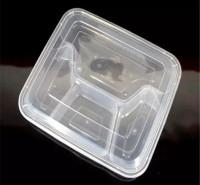 打包盒 塑料餐盒 一次性塑料餐盒 一次性塑料饭盒 米饭盒 商务套餐盒 瑞强众联 高端 透明塑料 定制 平凉