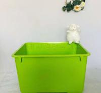 塑料加厚收纳箱 定制彩色储物箱 玩具置物收纳箱