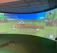 杭州golf模拟器 拥有高清画质1920px幕布 北京迈哈沃