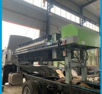 压滤机工作效率 操作简单 广东污泥固化设备 污泥处理设备