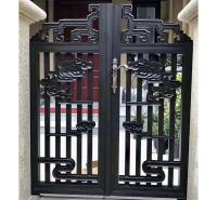成都铝艺门    铝艺大门   别墅大门加工 质量可靠
