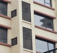 临朐铝合金百叶窗  百叶窗   空调百叶窗