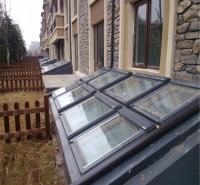 电动天窗  侧开型电动排烟天窗  阳光房天窗定做