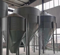 潍坊料塔销售  30吨料塔价格   料塔配套设备