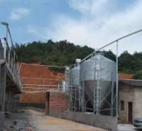 猪用镀锌饲料塔 欢迎来电咨询 料塔出售