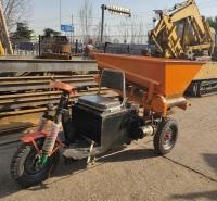 小型电动三轮车 预制厂混凝土运输车 狭窄过道专用电动三轮车