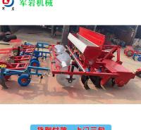 军岩机械 玉米播种机 牵引式播种机械厂家 适用作物多