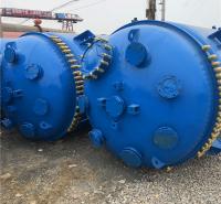 梁山市场二手反应釜 多种类型反应釜设备 型号齐全