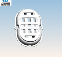 注塑加工成型 注塑模具加工定制厂家 枣庄注塑加工模具 立强模具 品质保证