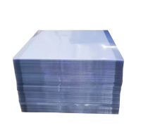 PVC透明爽滑 折盒 印刷胶片