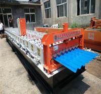 780大圆弧彩钢设备 波浪板压瓦机 墙面横挂板机 压瓦机