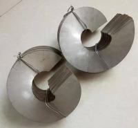 拓凯实业 绞龙螺旋叶片报价 小型绞龙螺旋叶片 支持定制