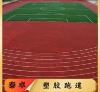 EPDM塑胶跑道 复合型塑胶地板厂家 学校运动塑胶跑道 厂家定制