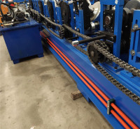 C型钢机C型槽机冲孔C型钢机器80-300八字筋C型钢机C型钢导槽机