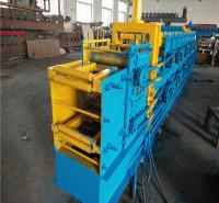 科发热镀锌几字钢机  框架型材结构框架型钢成型机