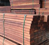 付迪木业 进口印尼菠萝格防腐木地板 非洲菠萝格实木板材