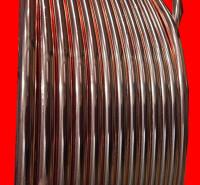 镀铜圆线 接地镀铜扁钢 铜覆钢圆钢 锴盛生产盘卷直条