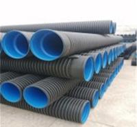 平顶山HDPE波纹管生产厂家价格 河南三门峡碳素波纹管价格合理