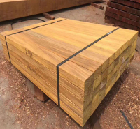付迪木业 防腐木原材料 圆木菠萝格材料 防腐木地板材料 厂家直供