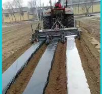 旋耕起垄施肥铺滴灌铺膜一体机 青州多功能一体机批发 垄深可调节