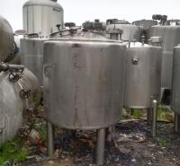 供应二手奶罐 不锈钢设备 储奶设备 乳制品加工机械