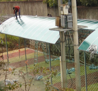 杭州品胜 室外透明棚 pc板 可制作各式透明围栏 自行车棚