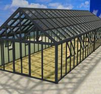 杭州品胜 透明板材pv板 可制作透明屋 适用于各种想要制作透明阳台的客户