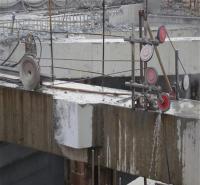 挡土墙切割拆除 桥梁切割 混凝土柱子切割