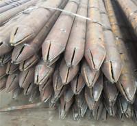 168*4隧道注浆管73*10钢花管规格  汉达钢铁  121*4管棚管