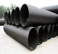 HDPE双壁波纹管安装方法漯河塑料波纹管