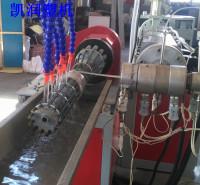供应螺旋风管生产线 凯润塑机 16-200mmpvc螺旋管生产线