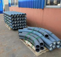 现货出售陶瓷耐磨三通 耐磨陶瓷弯头 厂家直销耐磨陶瓷管道