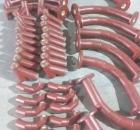 主营陶瓷耐磨弯头 煜轩陶瓷耐磨陶瓷管道 加工定制耐磨陶瓷三通