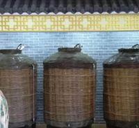 1-5吨桑皮纸裱糊酒海  储酒容器传统藤编酒海 容量不同价格不同