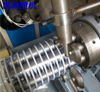 销售pvc钢丝管生产线 凯润塑机 成套PVC风管生产线
