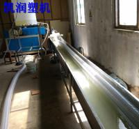 供应pu风管生产线 凯润塑机 110mmpu钢丝管生产线 耐温pu钢丝风管生产线