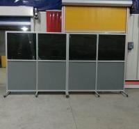 移动式防护屏厂家直销 移动焊接遮光屏规格 环保无毒