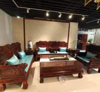 红木沙发 西安红木家具 阔叶黄檀沙发