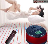 家用大功率双温双控水暖炕智能恒温静音水循环水暖毯 老人孕妇定制