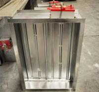 3C认证通风设备 70°不锈钢常闭防火阀 电动排烟防火阀