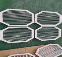 ABS中央空调条形出风口 新风口定做 空调铝合金格栅风口