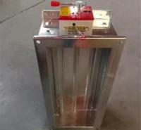 工业消防排烟防火阀 通风除尘管道排烟防火阀 商用多叶调节阀