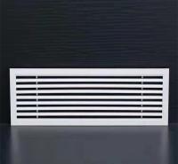 铝合金百叶窗厂家直供 防雨百叶空调风口 单双层通风口 铝合金百叶窗